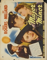 The Major and the Minor movie poster (1942) picture MOV_a804a64f