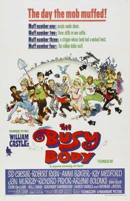 The Busy Body movie poster (1967) poster MOV_a808dfba