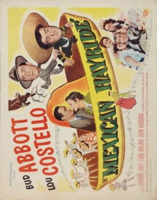 Mexican Hayride movie poster (1948) poster MOV_a8097e15
