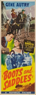 Boots and Saddles movie poster (1937) poster MOV_a80e260e