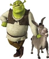 Shrek movie poster (2001) picture MOV_a82e12ab