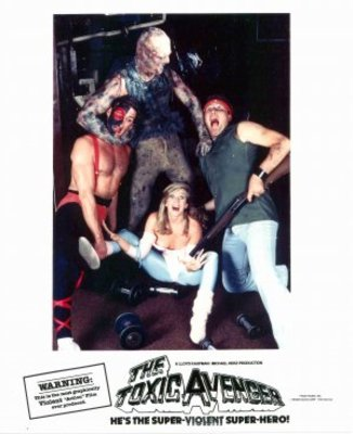 The Toxic Avenger movie poster (1985) poster MOV_a8436ae9
