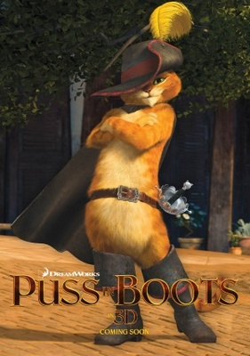 Puss in Boots movie poster (2011) poster MOV_a854e246