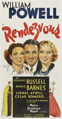 Rendezvous movie poster (1935) poster MOV_a8560f0f