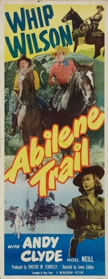 Abilene Trail movie poster (1951) poster MOV_a86883f3