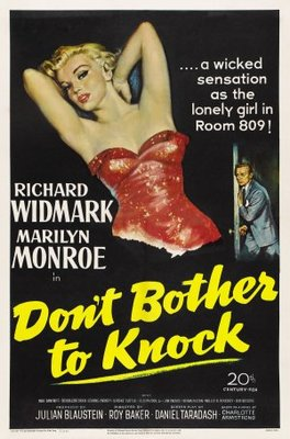 Don't Bother to Knock movie poster (1952) poster MOV_a87bd7c4