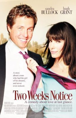 Two Weeks Notice movie poster (2002) poster MOV_a883e4e4