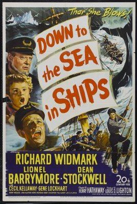 Down to the Sea in Ships movie poster (1949) poster MOV_a88a6c66