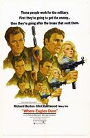 Where Eagles Dare movie poster (1968) picture MOV_a896d51e