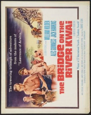 The Bridge on the River Kwai movie poster (1957) poster MOV_a8a0bce8
