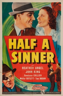 Half a Sinner movie poster (1940) poster MOV_a8b416d2