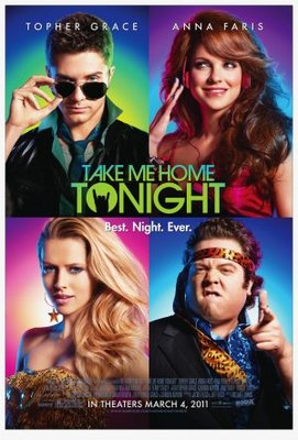 Take Me Home Tonight movie poster (2011) poster MOV_a8c90607