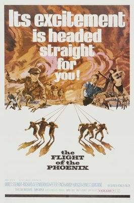 The Flight of the Phoenix movie poster (1965) poster MOV_a8d4aa9b