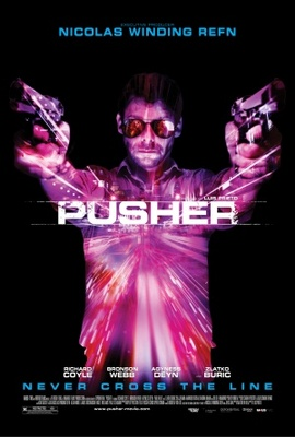 Pusher movie poster (2012) poster MOV_a8d9207f