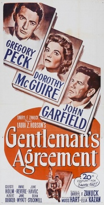 Gentleman's Agreement movie poster (1947) poster MOV_a8e2c191