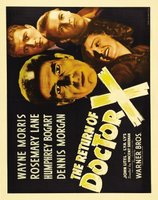 The Return of Doctor X movie poster (1939) picture MOV_a8e978d1