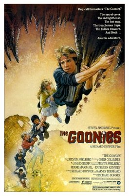 The Goonies movie poster (1985) poster MOV_a900c7be