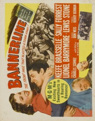 Bannerline movie poster (1951) poster MOV_a950b107