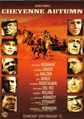 Cheyenne Autumn movie poster (1964) poster MOV_a951d1d6