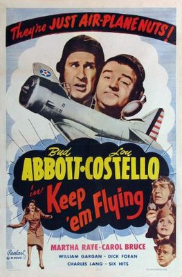 Keep 'Em Flying movie poster (1941) poster MOV_a95c0abe