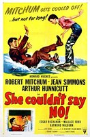 She Couldn't Say No movie poster (1954) picture MOV_a971c8d5