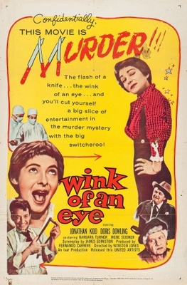 Wink of an Eye movie poster (1958) poster MOV_a97f4d23