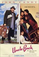 Uncle Buck movie poster (1989) picture MOV_a98137a2