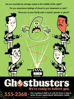 Ghost Busters movie poster (1984) picture MOV_a9bd3e6f