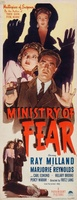 Ministry of Fear movie poster (1944) picture MOV_a9bf0ee9