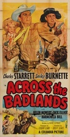 Across the Badlands movie poster (1950) picture MOV_891de651