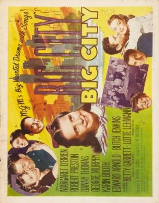 Big City movie poster (1948) poster MOV_a9eaf4c1