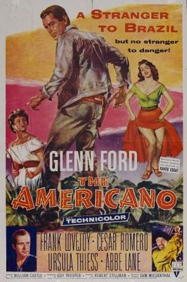 The Americano movie poster (1955) poster MOV_aa0383f3