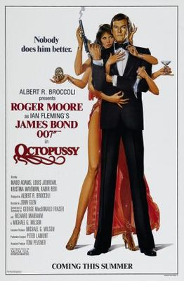 Octopussy movie poster (1983) poster MOV_aa05f84b
