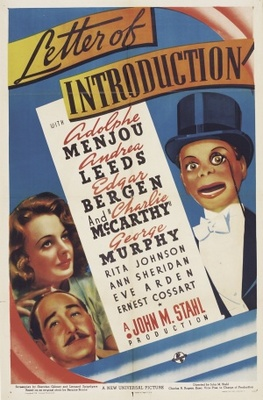 Letter of Introduction movie poster (1938) poster MOV_aa29e3f0