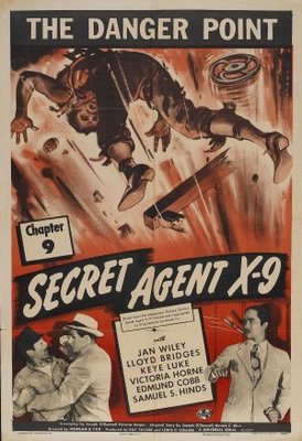 Secret Agent X-9 movie poster (1945) poster MOV_aa3a38ff