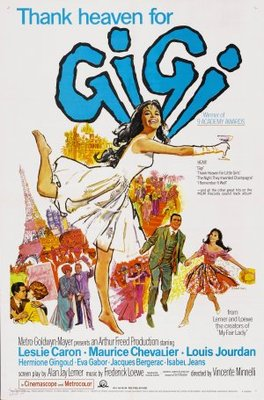 Gigi movie poster (1958) poster MOV_aa3b0174