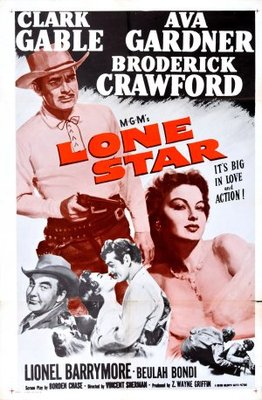 Lone Star movie poster (1952) poster MOV_aa56cd2c