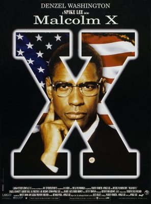 Malcolm X movie poster (1992) poster MOV_aa5f38e4
