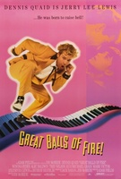 Great Balls Of Fire movie poster (1989) picture MOV_aa80ba39
