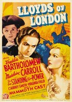 Lloyd's of London movie poster (1936) picture MOV_aa841719