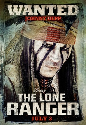 The Lone Ranger movie poster (2013) poster MOV_aa996df1