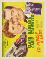 To Please a Lady movie poster (1950) picture MOV_aaa29daf
