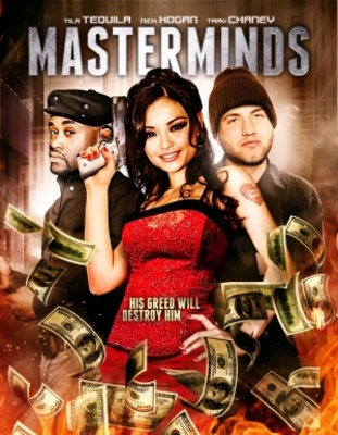 Masterminds movie poster (2012) poster MOV_aaa866ee