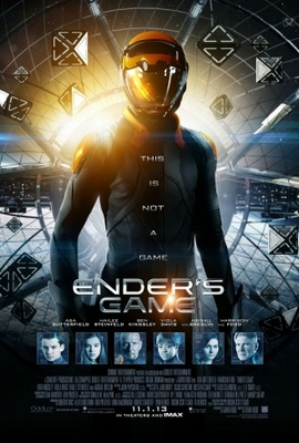Ender's Game movie poster (2013) poster MOV_aaa931fc