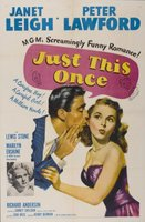 Just This Once movie poster (1952) picture MOV_aaab7272