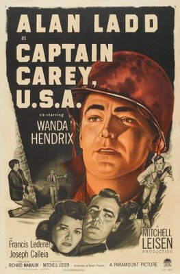 Captain Carey, U.S.A. movie poster (1950) poster MOV_aaac5dd0