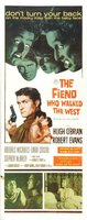 The Fiend Who Walked the West movie poster (1958) picture MOV_aaac8222