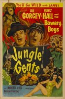 Jungle Gents movie poster (1954) picture MOV_aaaf571a