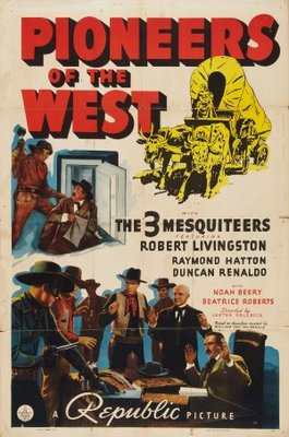Pioneers of the West movie poster (1940) poster MOV_aab72f1e