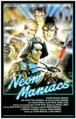 Neon Maniacs movie poster (1986) poster MOV_aabe6337